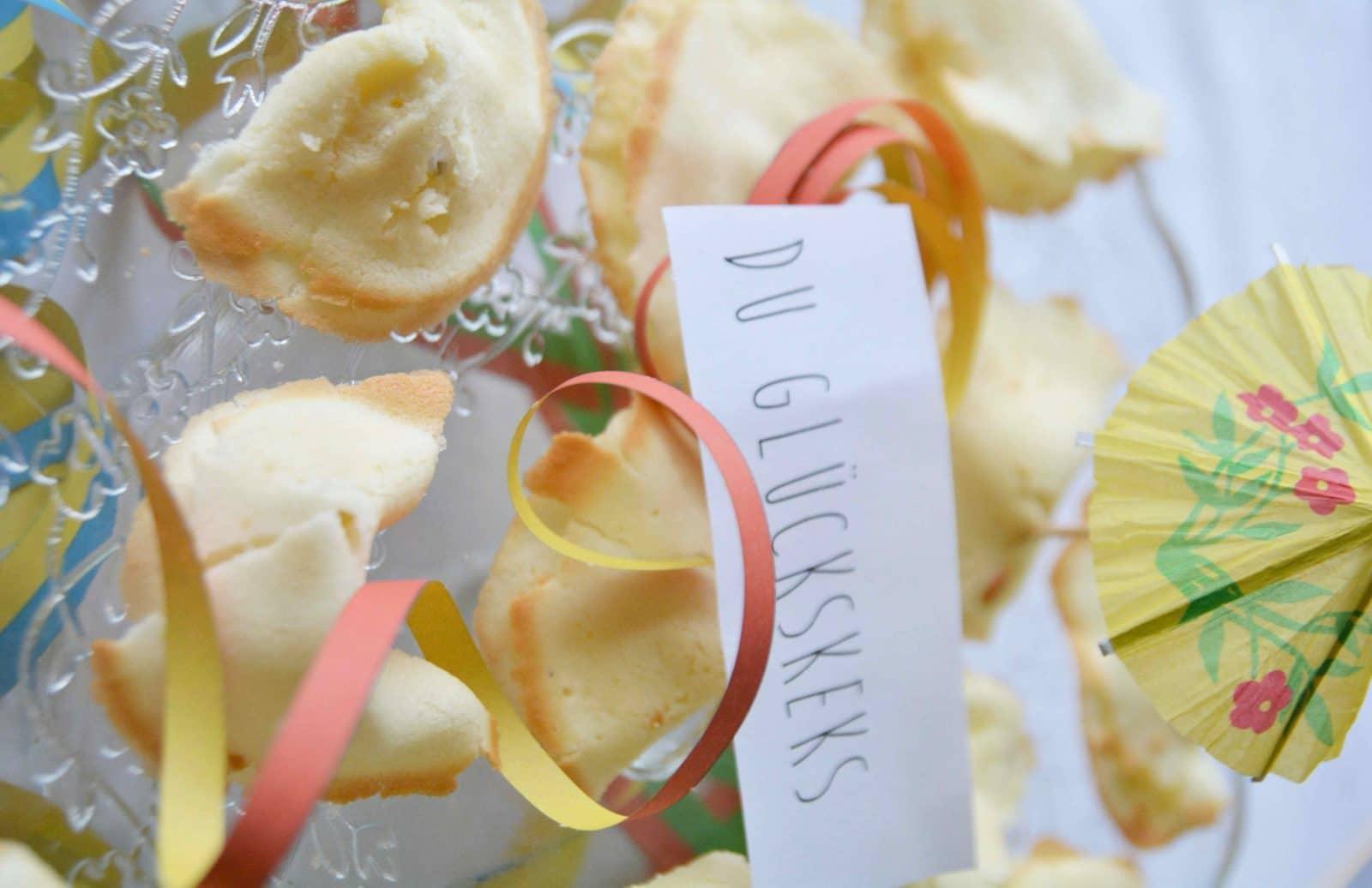 DIY-Glückskekse für die Silvesterparty