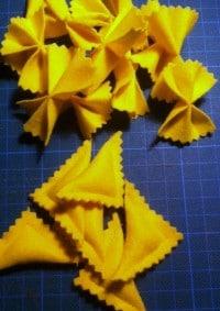 DIY - Nudeln nähen für die Kinderküche