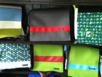 Taschen aus LKW Plane nähen
