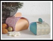Pillow-Box Freebie & schnelle Verpackungsideen
