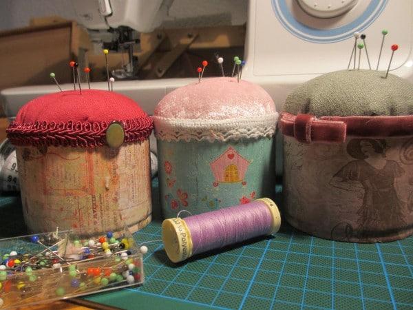 Nadelkissen aus der Blechdose DIY