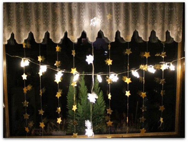 Schneller Sternenglanz für euer Fenster