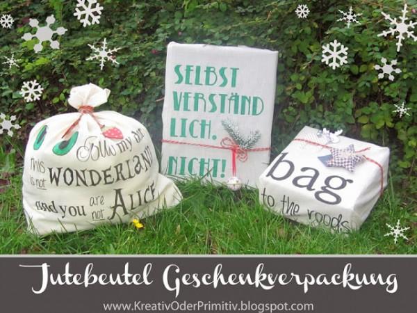 Umweltfreundliche Geschenkverpackung
