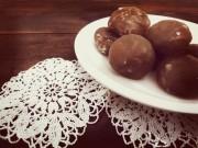 marrons glacés oder kandierte Kastanien