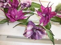 Blüten, Lichterketten & Sterne aus Papier & Papiergarn, Upcycling mit Büchern
