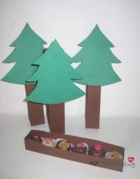 :: Eine Weihnachtsschachtel für Pralinen basteln ::.