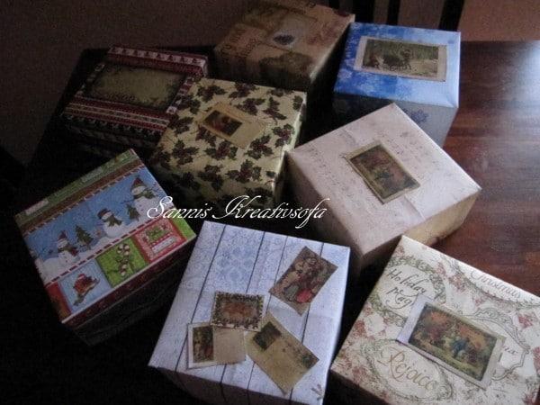 Vintage-Geschenkkisten