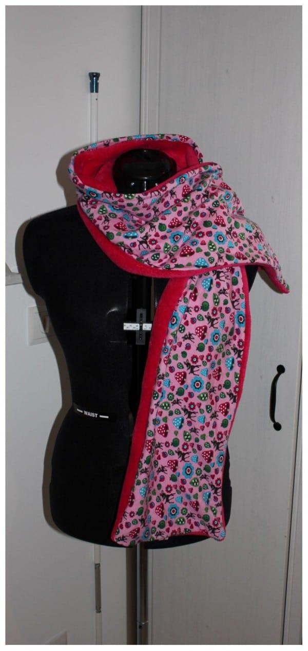Einfacher Schal schnell selbst genäht