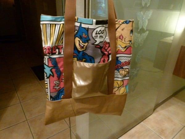 Shopper : Comic meets Lack + Leder