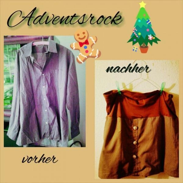 Aus Herrenhemd wird Rock