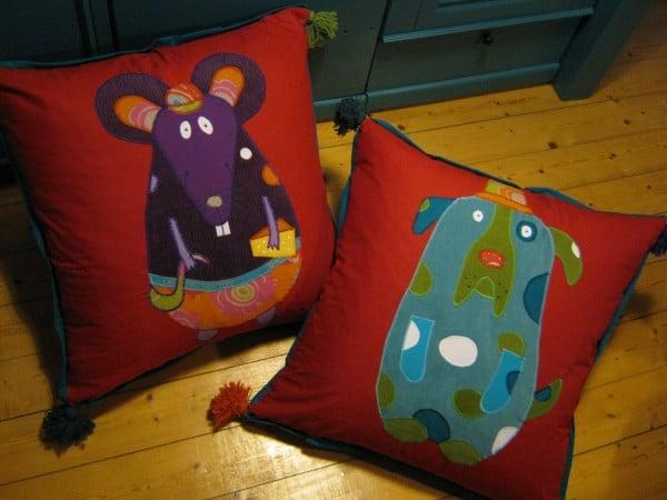 Bodenkissen Fur S Kinderzimmer Handmade Kultur