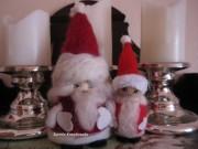 Familie Weihnachts- Mann