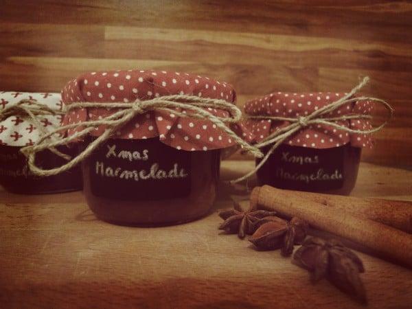 Weihnachtliche Marmelade