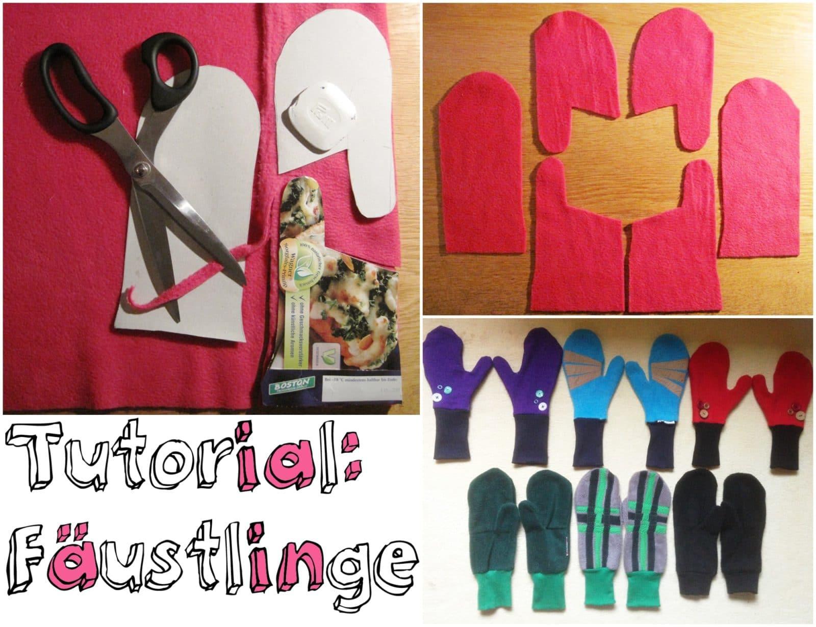 Tutorial: Fäustlinge - HANDMADE Kultur