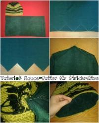 Tutorial: Fleece-Mütze – Oder ein warmes Futter für die selbstgemachte Strickmütze