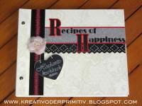 Rezeptbuch der Gäste zur Hochzeit