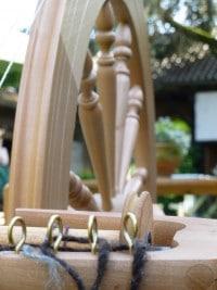 Spinnkurs: Spinntag - Aus der Locke zum Garn