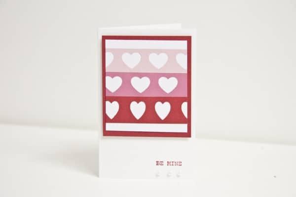 Schnelle Valentiskarten