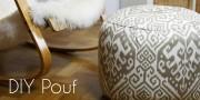DIY Pouf - stylishes und superpraktisches Sitzkissen!