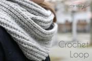 Gestrickt? Nein, gehäkelt! Easy Loop Schal DIY - NEU mit Video Anleitung