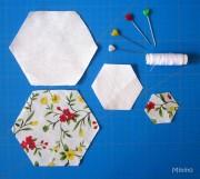 Untersetzer Hexagon