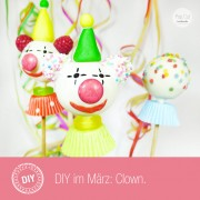 DIY Clown Cake Pop