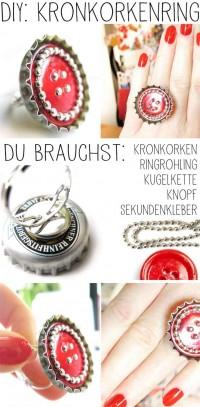 DIY: Ring aus Kronkorken