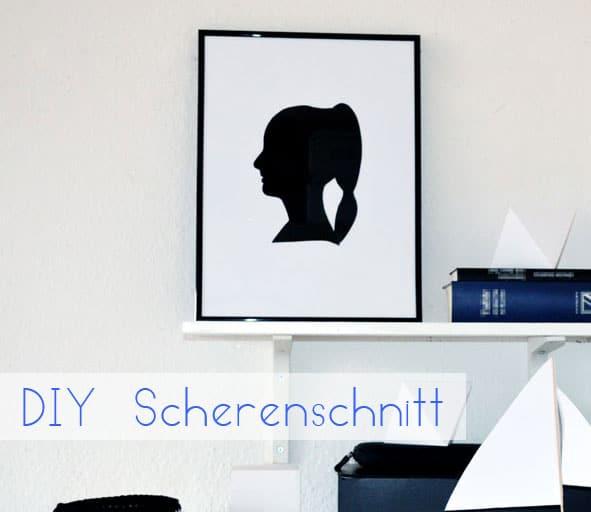 DIY Scherenschnittbild