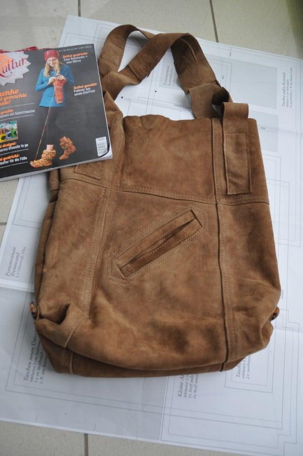 Tasche aus alter Jacke Nr.2