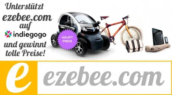 HANDMADE Kultur unterstützt Indiegogo-Kampagne von ezebee.com