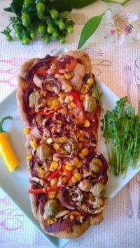 Vegane Pizzafladen