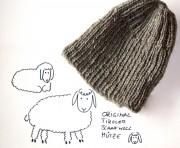 Schafwollmütze aus original Tiroler Schafwolle