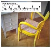 Inspiration: Mut zur Farbe gelb #DIY