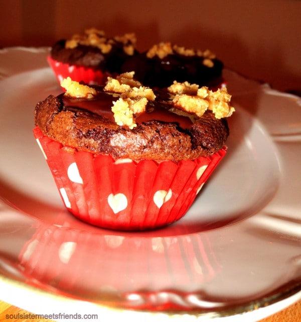 Schoko-Karamell Cupcakes