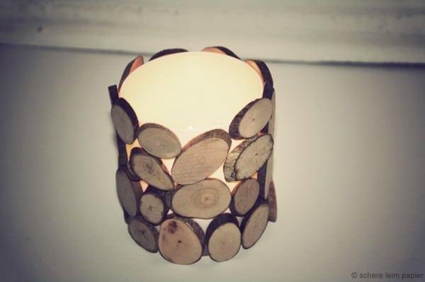 DIY Holzlicht