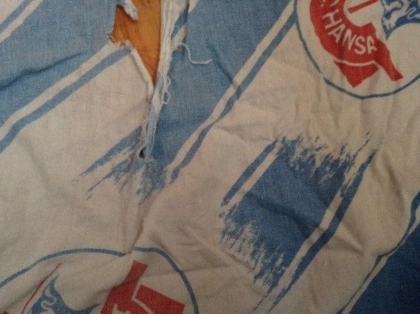 Recycling - Kissenbezug aus altem Laken