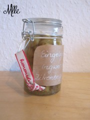 Eingelegter Ingwer mit Zitronengras