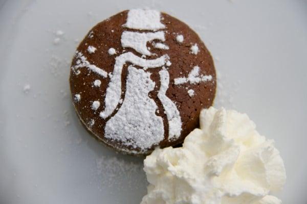 Schoko Lebkuchen Küchlein - Resteverwertung