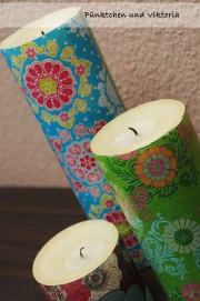 DIY - Kerzen Updo