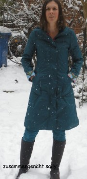 Mein neuer Regenmantel Johanna
