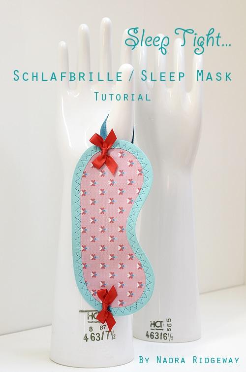 DIY Schlafbrille
