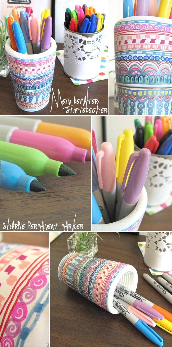 [diy] ALLES anmalen mit Sharpies