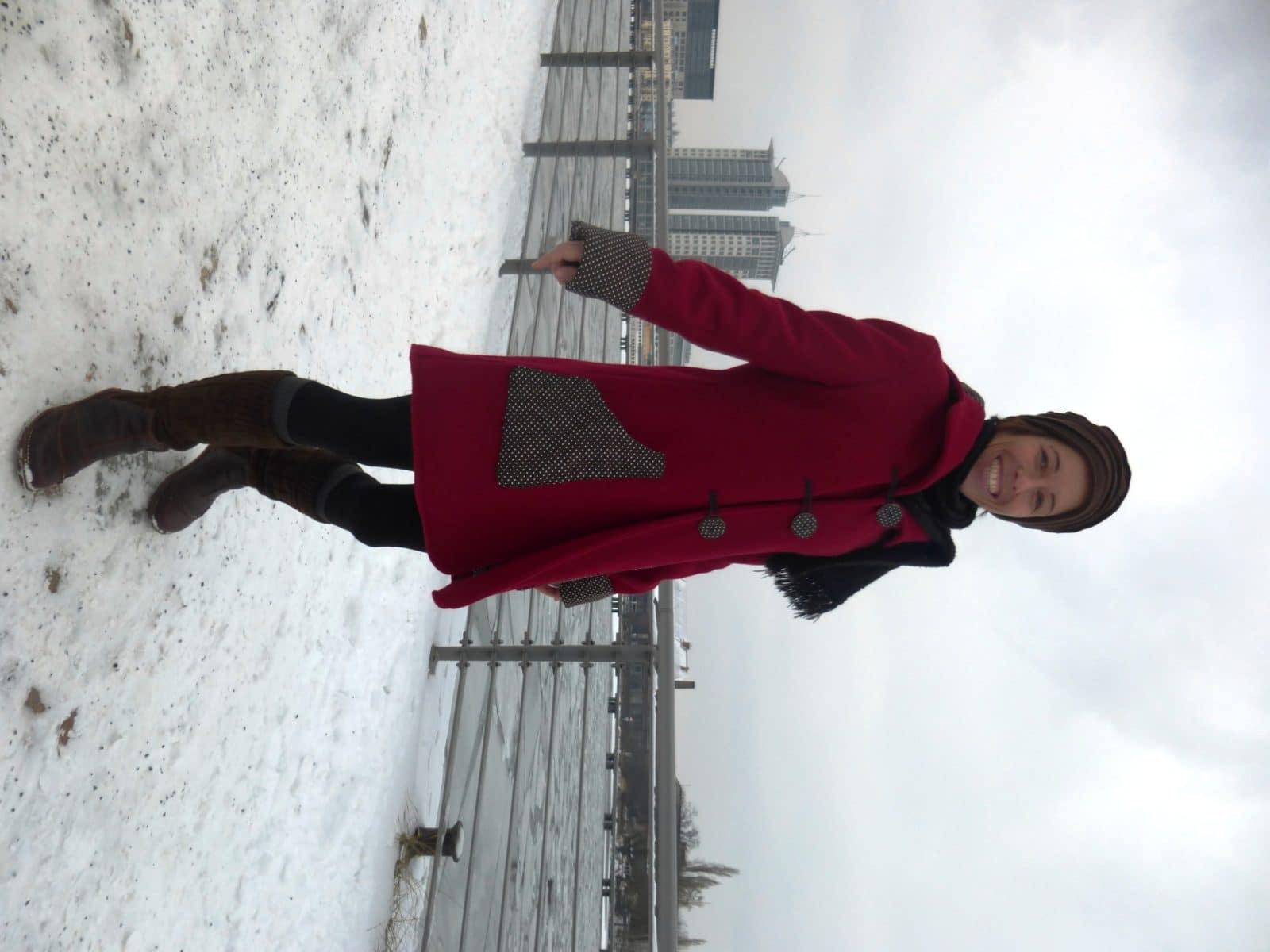 Rotkäppchen im Winterland