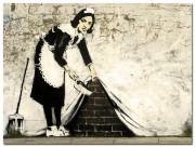 Frühjahrsputz an Deiner Wand! StreetArt Leinwand Drucke von Street Heart