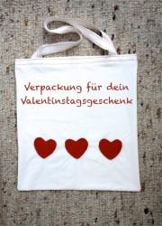 Tasche mit Herz