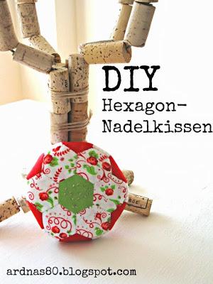 Hexagon-Nadelkissen