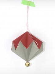 DIY – PAPER DIAMONDS WITH BELLS