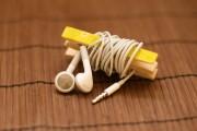 Schluss mit Kabelsalat - Kopfhörerkabel-Aufbewahrung