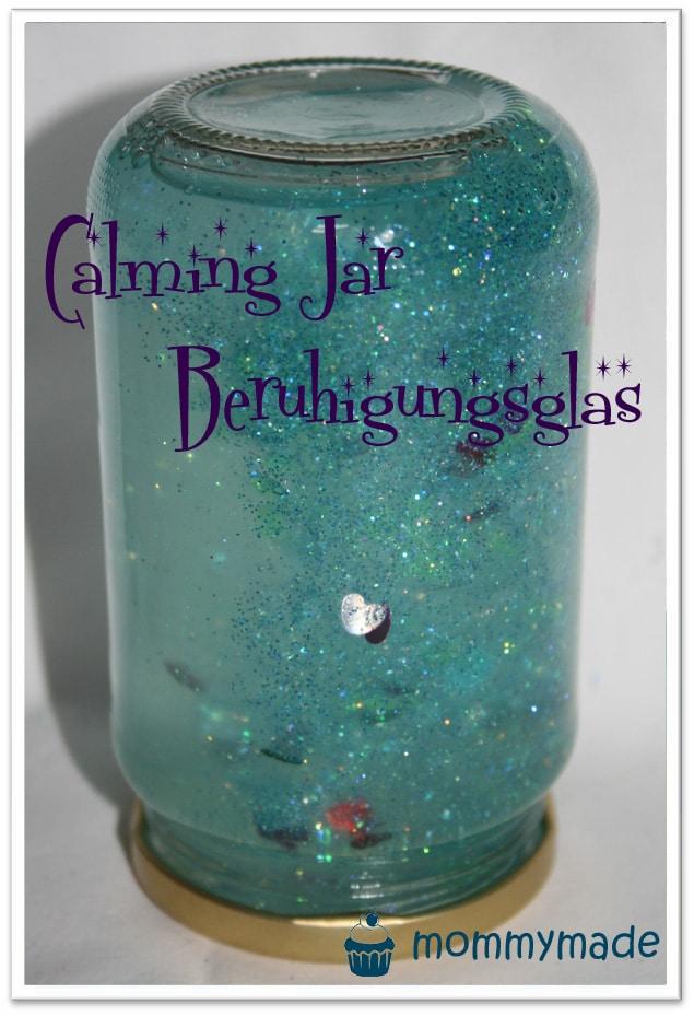 Calming jar beruhigungsglas handmade kultur - Bastelideen jungs ...