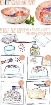 [diy] Schale aus Papier